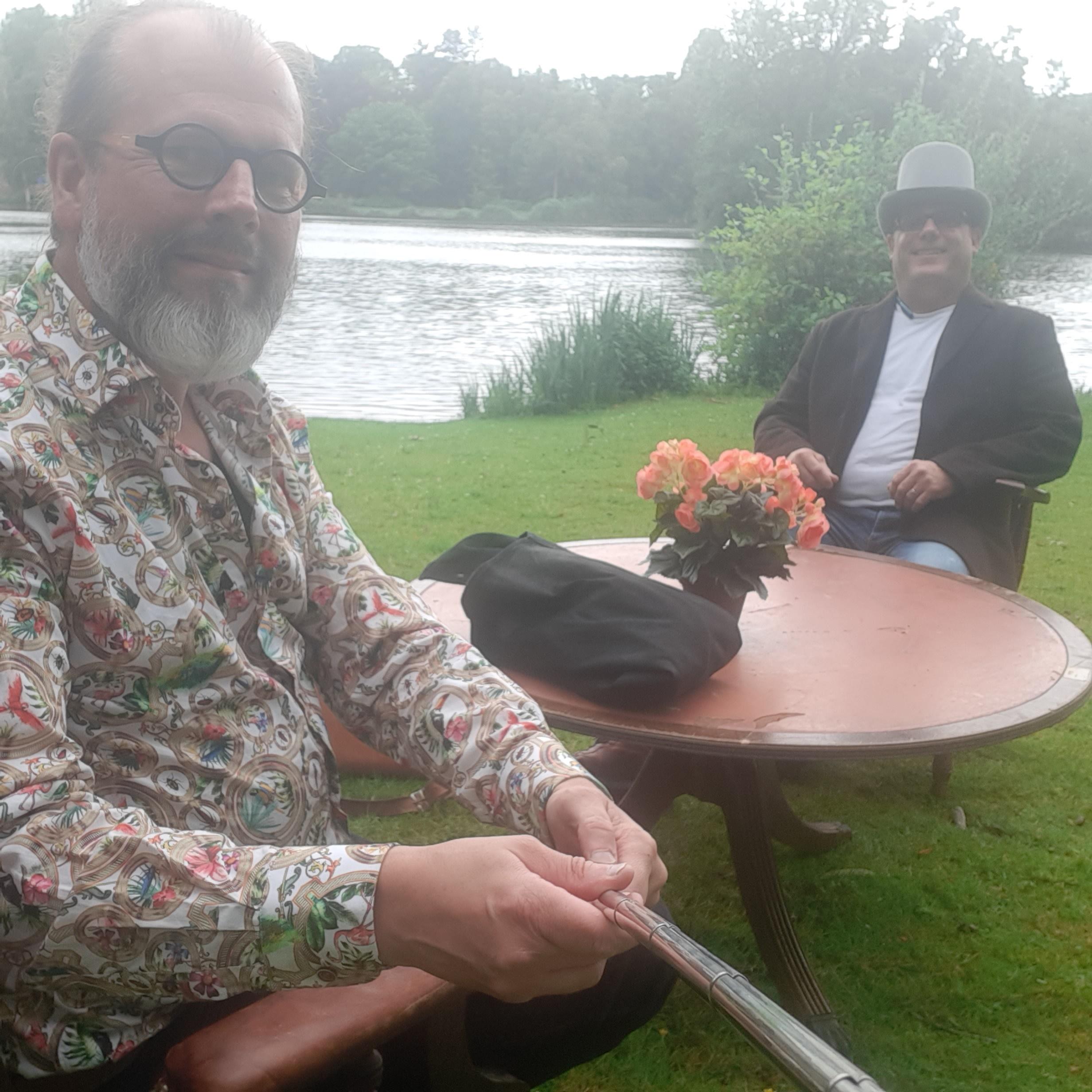 Sander Regter en Willem Cammel Wandelpark Boxtel